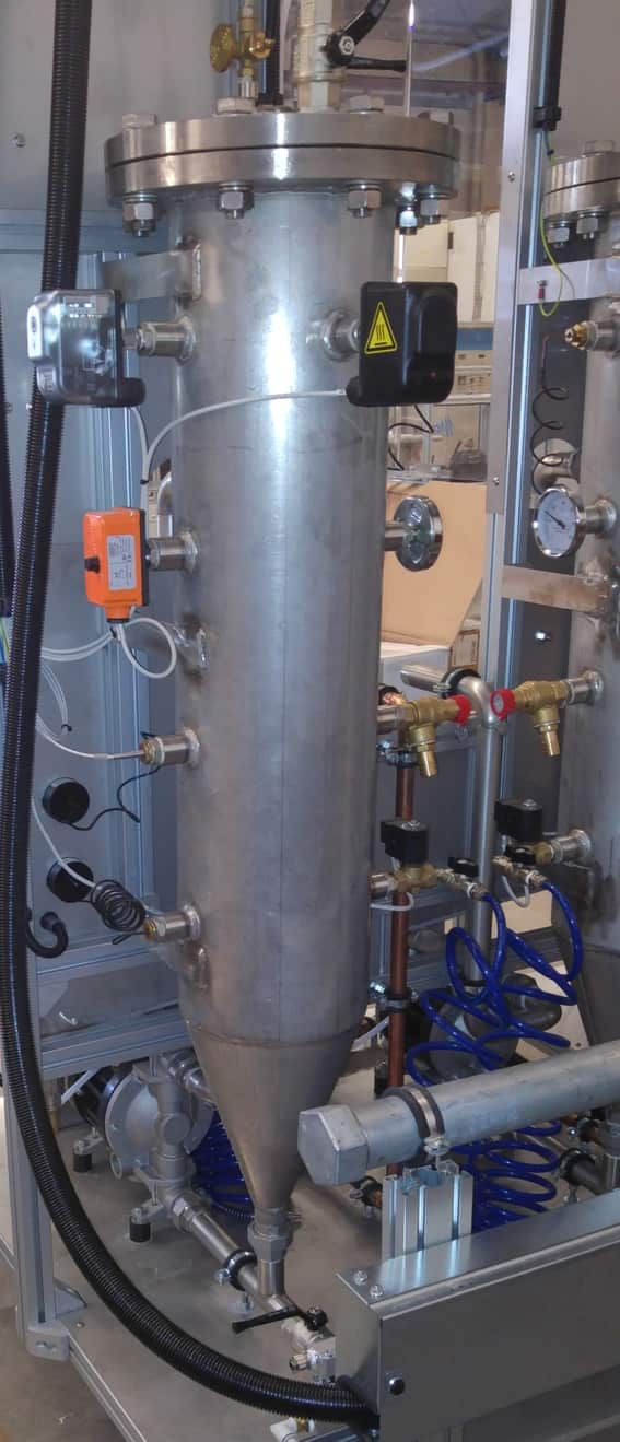 Life and corrosion tests on boiler and their component - Microline